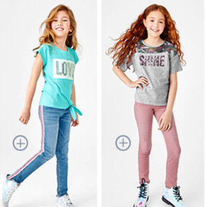 The Children's Place网站精选儿童牛仔裤一律$7.9促销