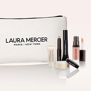 Laura Mercier官网全场美妆满$85送彩妆5件套+化妆包