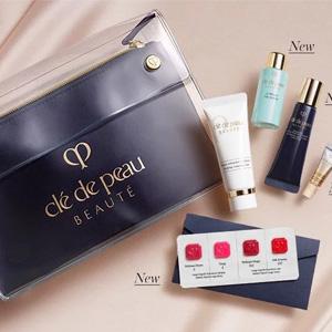 Cle de Peau Beaute官网订单满$300送5件套礼包