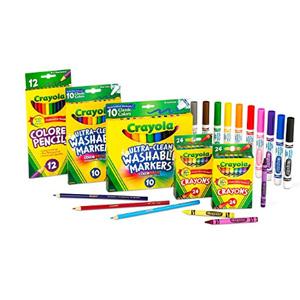 Crayola绘儿乐 back to school礼盒套装