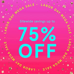 BH Cosmetics现Labor Day劳工节全场低至2.5折促销