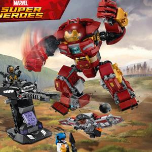 LEGO乐高 超级英雄系列 76104 反浩克装甲复仇者