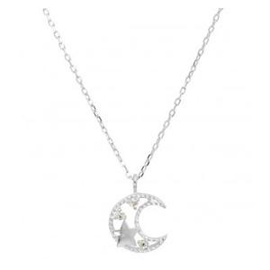 GLADD 天然钻石 星月项链