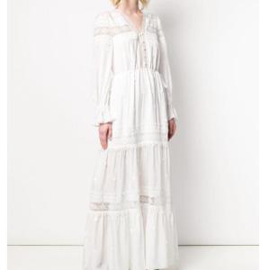 SELF PORTRAIT Hibiscus 长袖连衣裙
