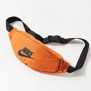 新低!Nike耐克Heritage橘色腰包