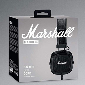 MARSHALL马歇尔 Major III 头戴式可折叠耳机 黑白两色