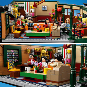 补货!LEGO 乐高 IDEAS 全新作品21319《老友记》