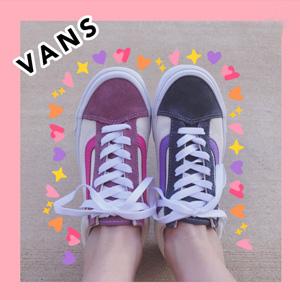 VANS范斯style 36粉紫中性款休闲鞋