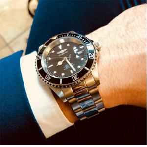 降价!Invicta Pro Diver系列 8932OB 黑水鬼男士石英腕表