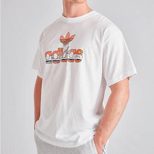 ADIDAS ORIGINALS GRAPHIC LABEL 男款T恤