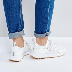 黄金码有货!Adidas Primeknit FLB 女士运动鞋