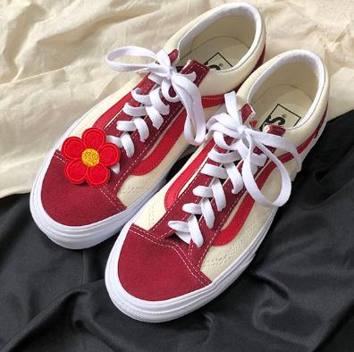 降价!VANS范斯style 36中性款休闲鞋  红色