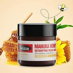 Swisse 麦卢卡蜂蜜排毒面膜70g