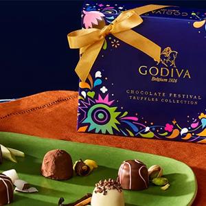 Godiva歌帝梵官网购买12粒松露礼盒享受购其他产品额外7折