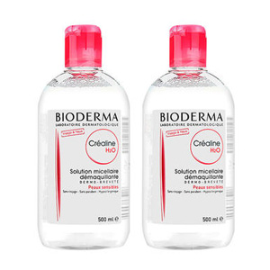Bioderma贝德玛 深层舒妍卸妆水 粉水500m*2瓶