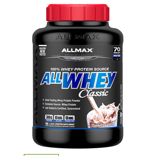 iherb现有ALLMAX Nutrition健身产品额外8折促销