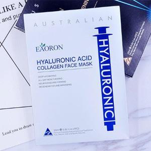 EAORON 水光针白面膜玻尿酸胶原蛋白补水面膜 5片/盒