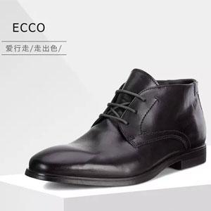 ECCO 爱步 Melbourne 墨本系列 男士真皮短靴
