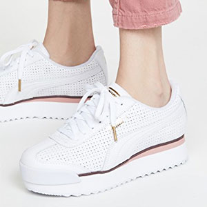 PUMA ROMA AMOR PERF女子厚底鞋
