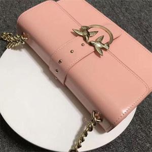 Pinko Love Simply 11 燕子包 裸粉色