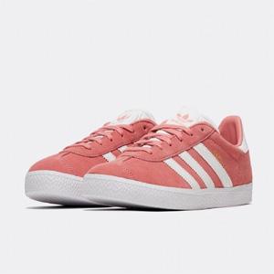 "Adidas阿迪达斯""Gazelle ""麂皮复古板鞋 大童款"