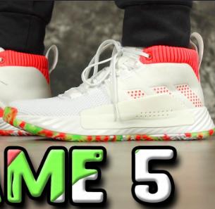 Adidas阿迪达斯Dame 5 利拉德第五代男士篮球鞋