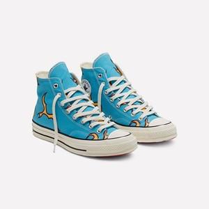 Converse 全新联乘 GOLF le FLEUR「Flame」鞋款。