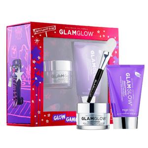 GLAMGLOW紫罐面膜100g+发光面霜50g套装(价值$142)