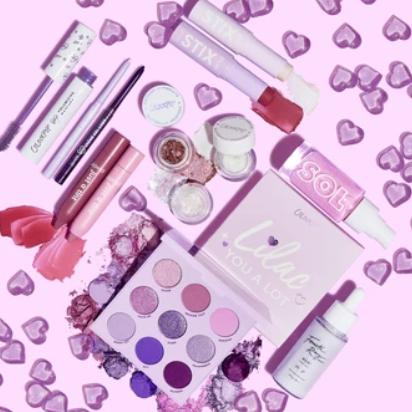 Colourpop上新lilac you a lot系列