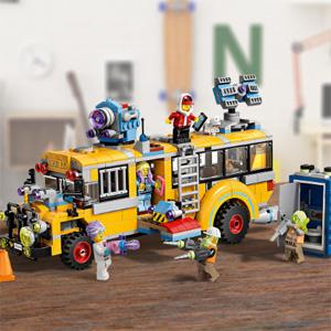 LEGO乐高 Hidden Side 特技巴士(70423)