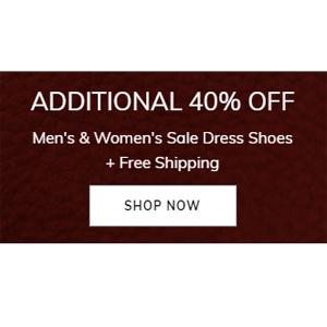 Ecco美国站现有精选正装鞋靴无门槛6折促销