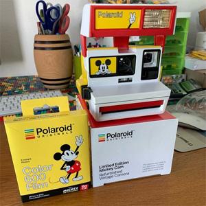 Polaroid 米奇90周年限量版600系拍立得