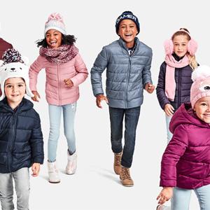 The Children's Place网站现有精选儿童保暖外套一律$19.99促销