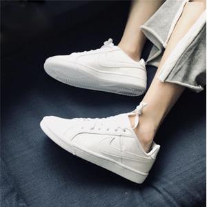 38.5/40码!Nike耐克COURT ROYALE (GS)大童款小白鞋