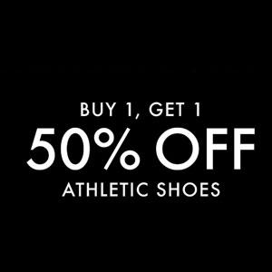 DSW 现有精选鞋履第二件半价促销