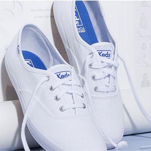 Keds精选Keds x kate spade new york鞋履无门槛7折促销再来
