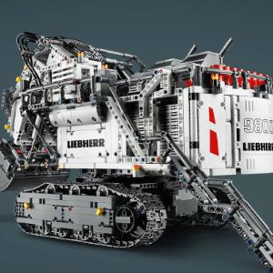 新低!LEGO乐高 机械组 42100 利勃海尔R9800遥控挖掘机