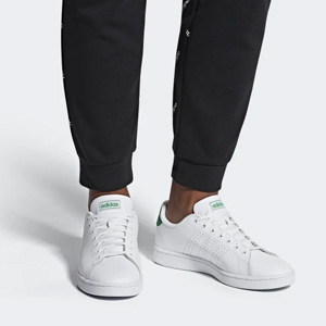 Adidas阿迪达斯ADVANTAGE小白鞋 大童款