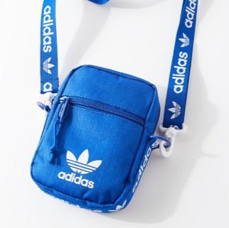 adidas Originals Blue Festival 三叶草斜挎包