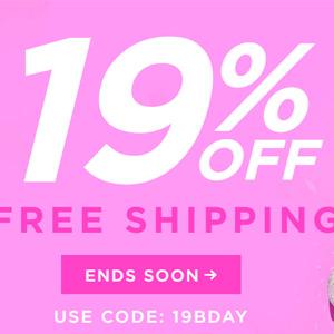 更新!Tarte美国官网现有全场美妆产品8.1折促销