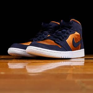 Nike JORDAN AIR JORDAN 1 MID金牌中童运动鞋