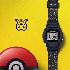 BABY-G ×Pokémon二十五周年别注版手表