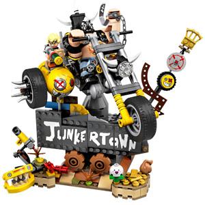新品!LEGO 乐高 守望先锋系列 75977 狂鼠与路霸