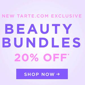 Tarte美国官网现有几款自选彩妆套组相当于8折促销