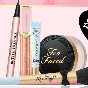 Too Faced现有购买指定美妆系列产品送正装好礼活动