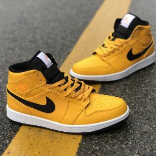 3码有货!Nike JORDAN AIR JORDAN 1 MID中童款运动鞋