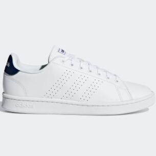 Adidas阿迪达斯Advantage男士小白鞋