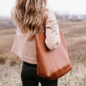 Madewell The Abroad Tote Bag 真皮手袋