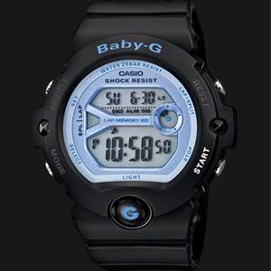 Casio卡西欧Baby-G系列蓝黑色运动腕表BG69031DR