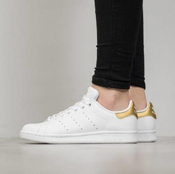 Adidas Stan Smith男款金尾休闲鞋